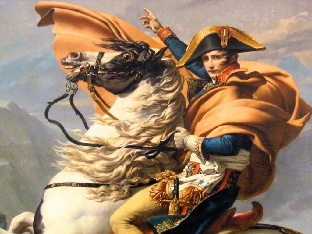 Napoleon Bonaparte, bajito inseguro de ambición desmesurada?
