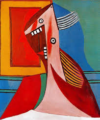 Bust of a woman an self portrait - Pablo Picasso