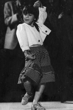 niña flamenca